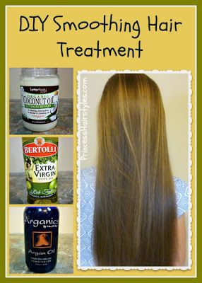 ther, silkier, less frizzy, and more shiny.   Smoothing hair treatment video tuto