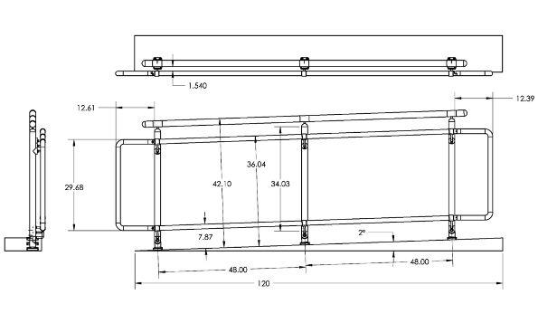 Best Ada Handicap Railing Layout Space Planning Title 24 400 x 300