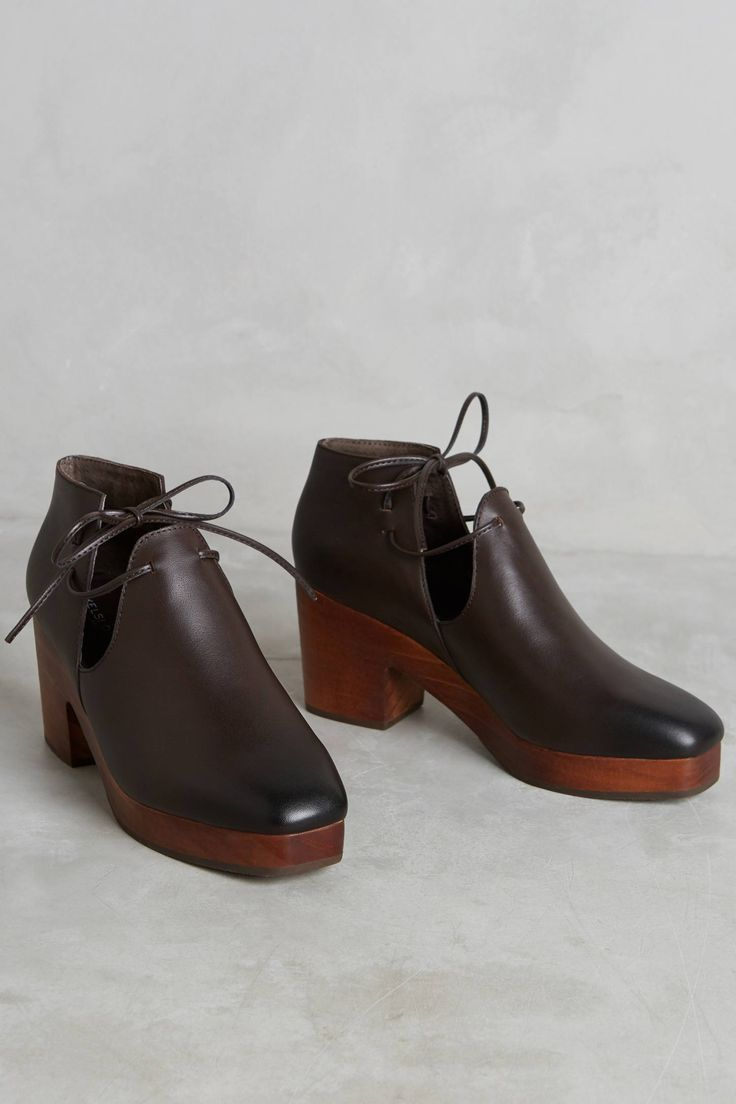 at Anthropologie - Heeled Booties