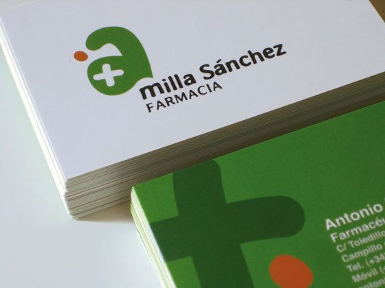Milla Sánchez Pharmacy | Identity on Behance