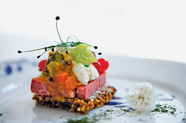 Ask any foodie in Copenhagen what Denmark's famous contribution to world cuisine is, and they say without hesitation: smørrebrød, an open-faced sandwich on dark rye.