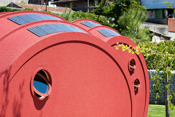 Shelter ByGG – Sustainable & Portable Accommodation by Gabriela Gomes. Read more at jebiga.com