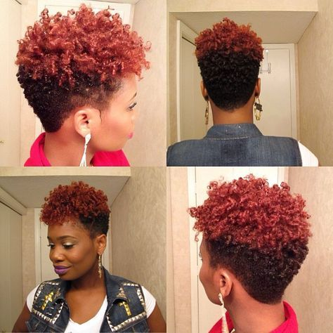 short nappy hairstyles