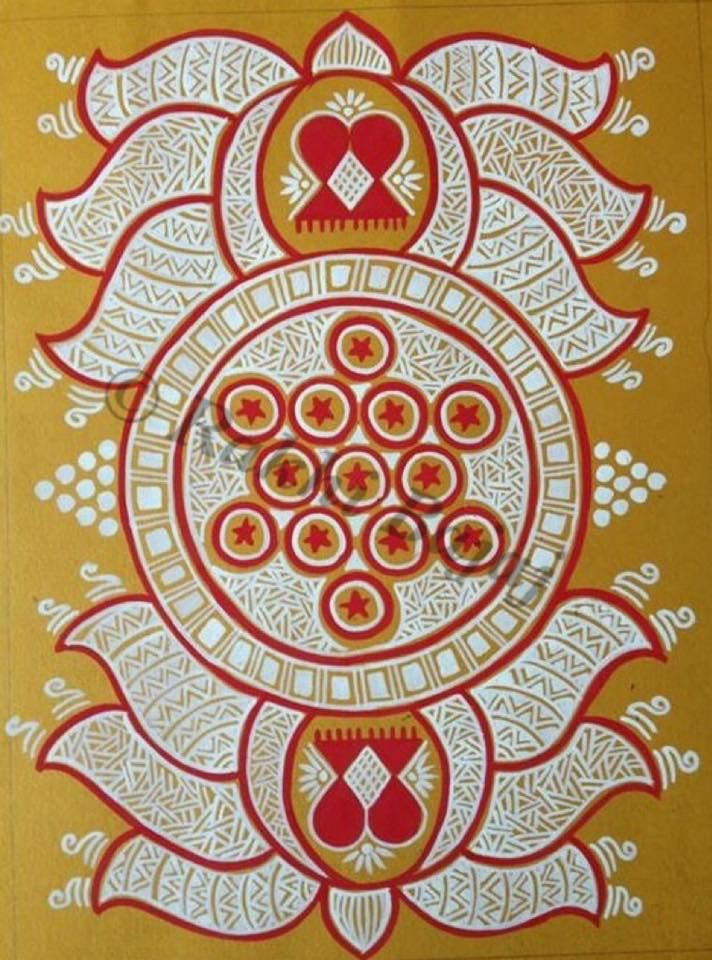 Mandan Art Rajastan by Rakhi Bajaj
