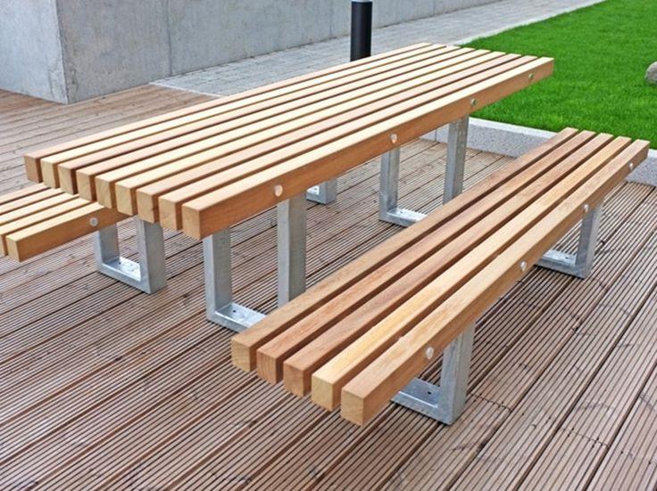Descarregue o catálogo e solicite preços de Tord | mesa para espaços públicos By factory furniture, mesa para espaços públicos em aço e madeira, Coleção tord