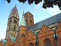 Ribe Cathedral, Jutland, Denmark.    A favorite destination!   Love this place.