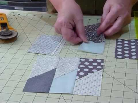 "Make a Picket Fence block using 5"" squares--when 4 blocks are pieced together the end result creates a Friendship star.  Quite nice for a scrappy quilt."