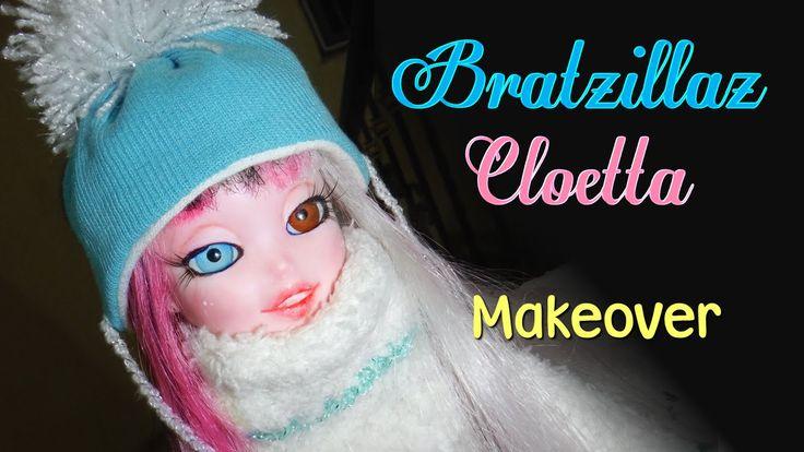 #diy #doll #repaint #bratzillaz  #cloetta