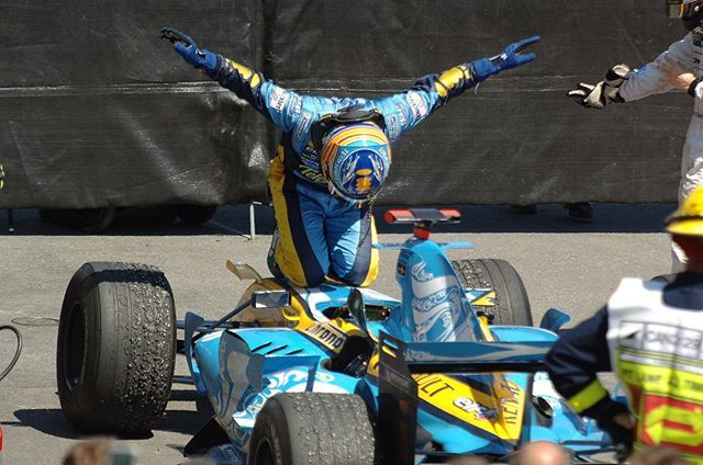 WEBSTA @ renaultsportf1 - #TBT June 2006, #CanadianGP, another @fernandoalo_oficial win. #Respect.This time next week… We'll be in Montreal!