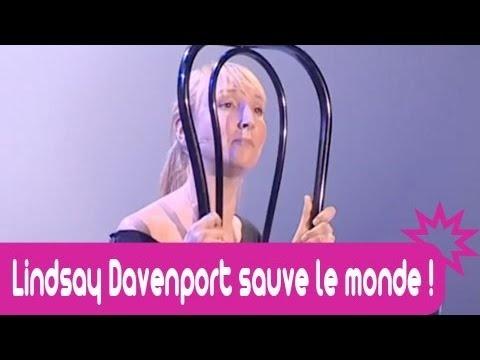 Audrey Lamy dans : Lindsay Davenport sauve le monde !