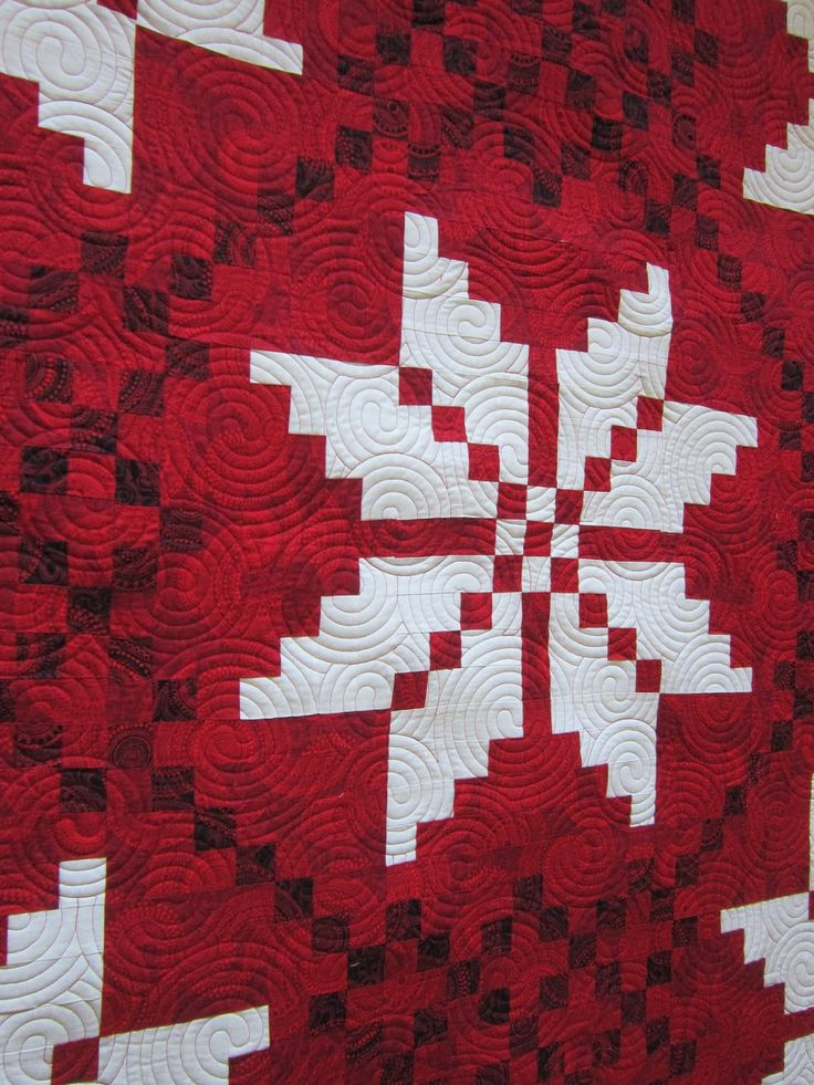 312 Best Images About Red And White Quilts On Pinterest