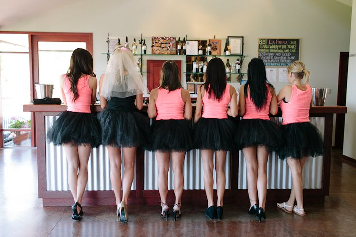 This outfit WILL be worn by me and all my bridesmaids on my wedding day... Except tutus will be white