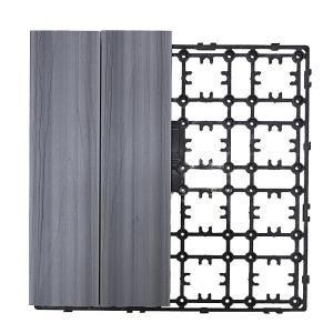 Deck-A-Floor Premium Modular Outdoor Composite Flooring System Kit Sample in Westminster Gray