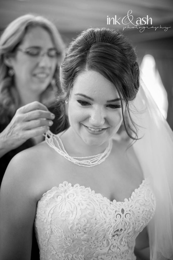 The beautiful bride. Photo by Ink and Ash Photography