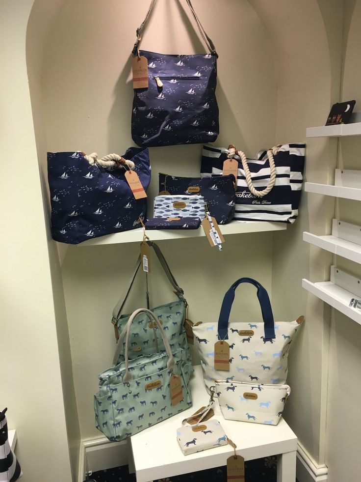 New brand for the new shop... We love the colours, prints and practical design of these bags from Brakeburn.