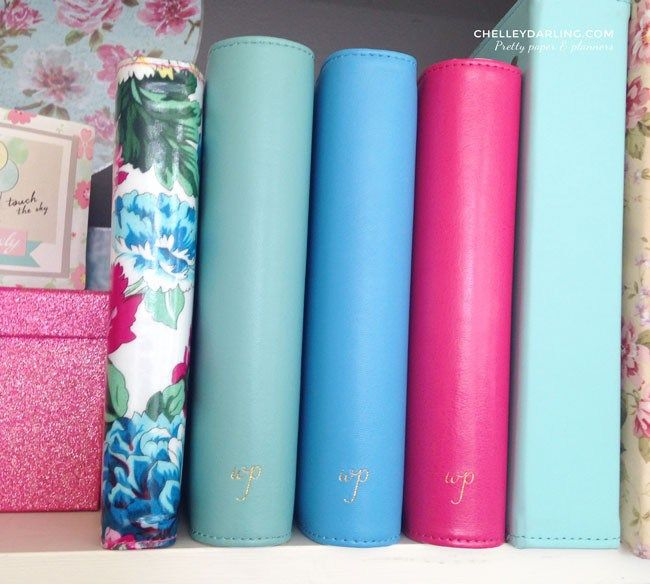 Chelley Darling's Webster's Pages Color Crush Planner collection