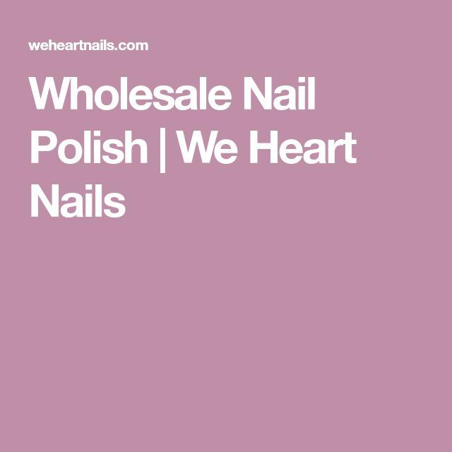 Wholesale Nail Polish | We Heart Nails