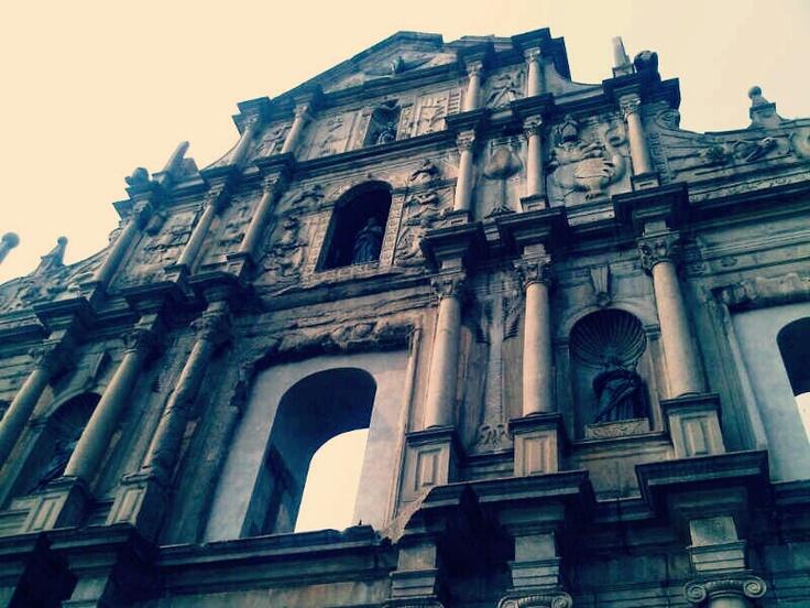 St. Alma church in Macau
