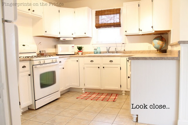 Bun Feet On The Kitchen Cabinets Kitchens Pinterest