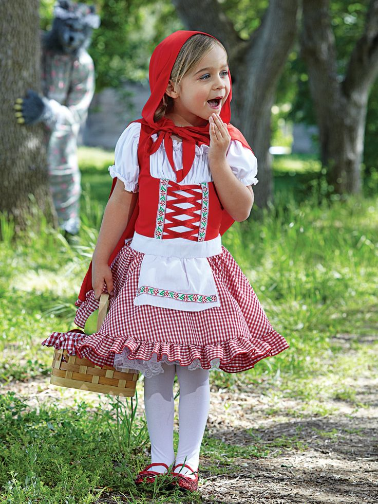 Little Red Riding Hood Costume  Fall  Red Riding Hood -9734