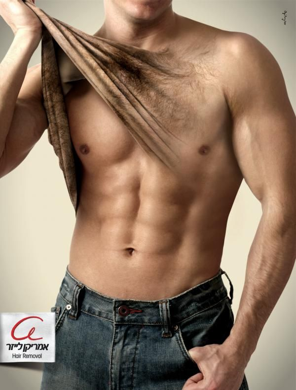 Hair removal for men too at Sweet Skin Spa #bodysuagring #hairremoval #Seattle
