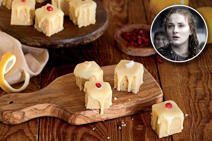 Sansa Eating Lemon Cake
