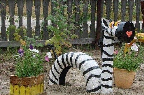 10 imagens de animais feitos com pneus | Reciclagem no Meio Ambiente – O seu portal de artesanato com material reciclado