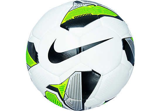 Nike Indoor Soccer Ball  White with Green and Black...Get it at SoccerPro.