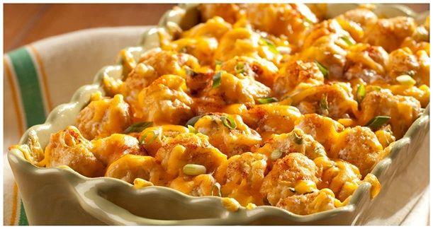 Ore-Ida - Recipes - Tater Tots Potato Romanoff