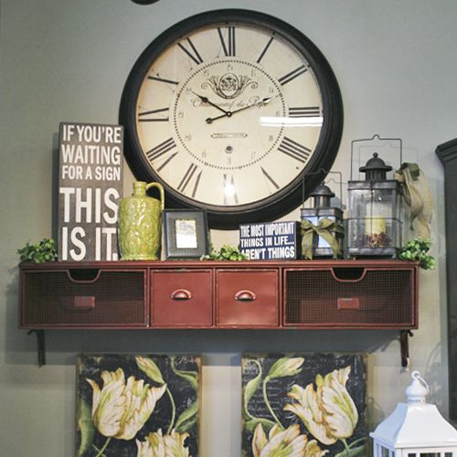 217 Best Images About Large Wall Clock Decor On Pinterest