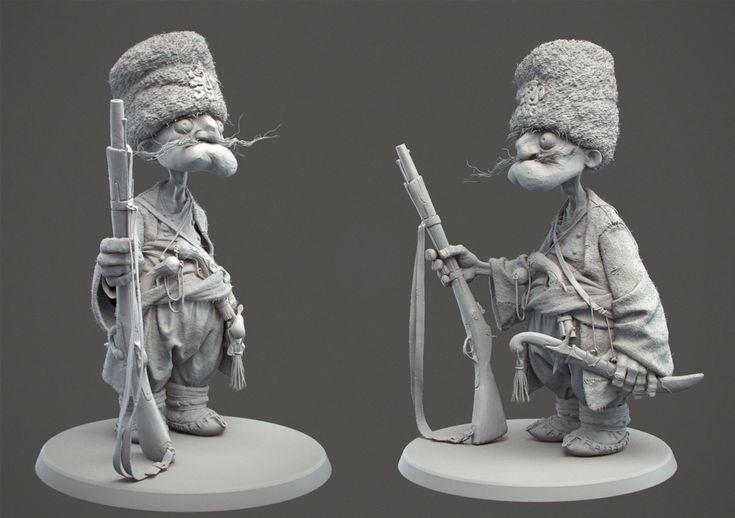 Haidutina clay , Borislav Kechashki on ArtStation at http://www.artstation.com/artwork/haidutina-clay