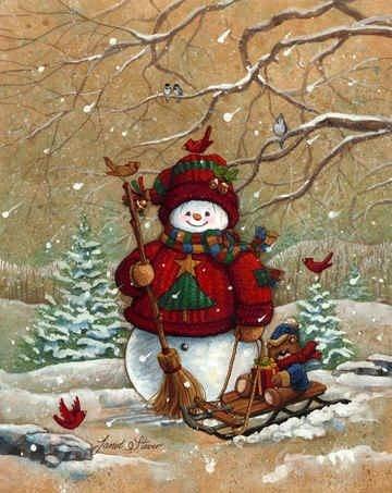 *CUTE SNOWMAN