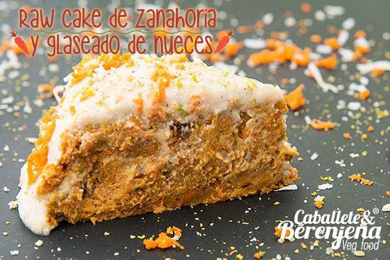 Raw Cake de Zanahoria