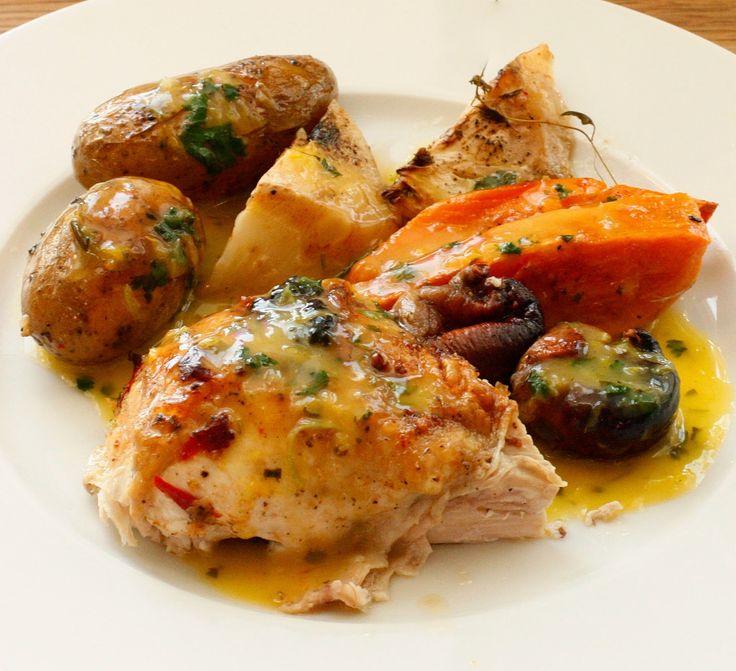 Gry´s Kjøkkenskriverier: Påskens kylling med appelsinsaus