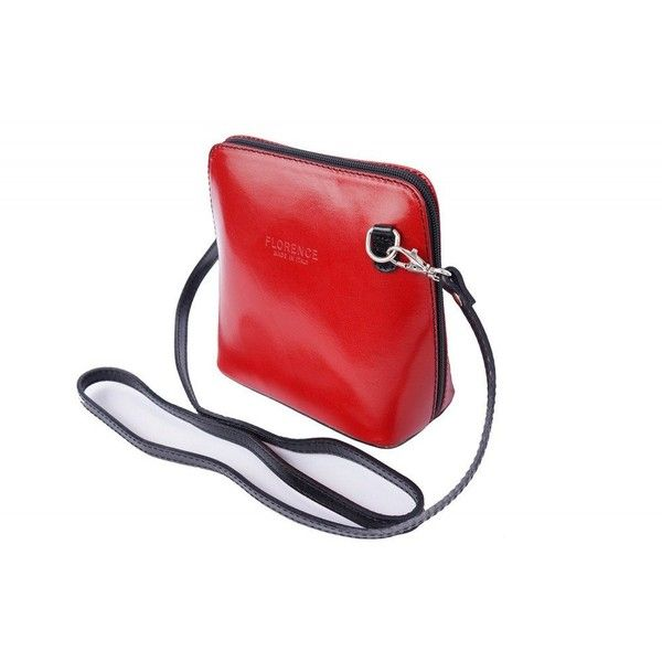 Italian small shoulder and cross body bag for women Red/Black ($44) ❤ liked on Polyvore featuring bags, handbags, shoulder bags, red crossbody, crossbody purses, red shoulder bag, red handbags and red crossbody handbags