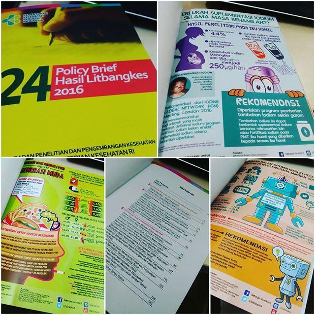 Bangga bisa berkontribusi dalam pembuatan buku ini bersama para peneliti Dan pejuang desain Litbangkes @funth3mental @suciati.cici together we fight 😁😁 #book # buku #infografis #penelitian #kesehatan #infographic #desainergrafis #indonesia