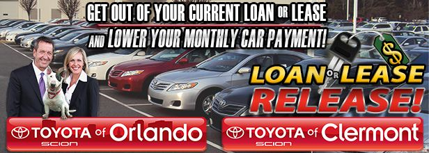 Want to get a used car or new Toyota near Orlando for a hard to beat price? We can help! Check out the special offers we're featuring during our Loan or Lease Release Event! http://blog.toyotaofclermont.com/2014/loan-lease-release-event-can-help-budget/