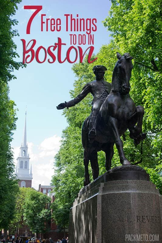 7 Free Things to Do in Boston  | packmeto.com