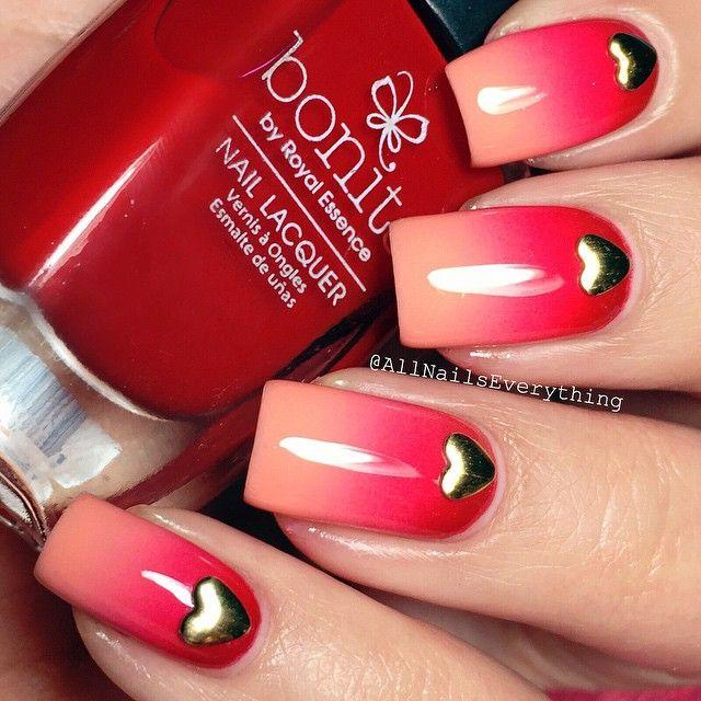 16 Super Cool Ombre Gradient Nail Art Tutorials: 1202 Best Images About Nokti On Pinterest
