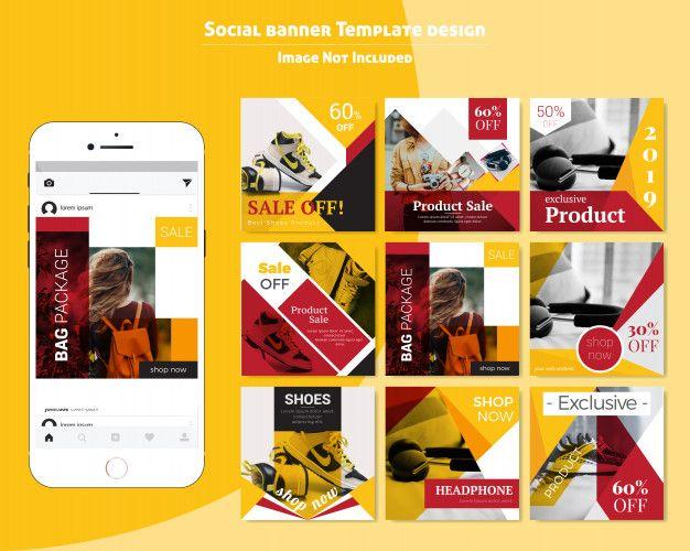 Food Social Media Post Template For Restaurant Social Media Post Post Templates Social Media Design
