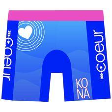 """Coeur Women's 5"""" Triathlon Shorts in Kona 17"""