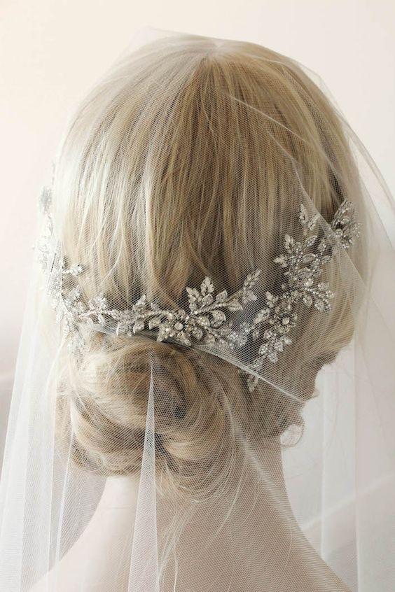ANAIS headpiece by Tania Maras