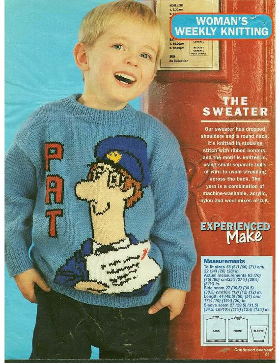 Knitting Pattern Postman Pat : The 20 best images about Postman Pat on Pinterest Vinyls, Cartoon and TVs