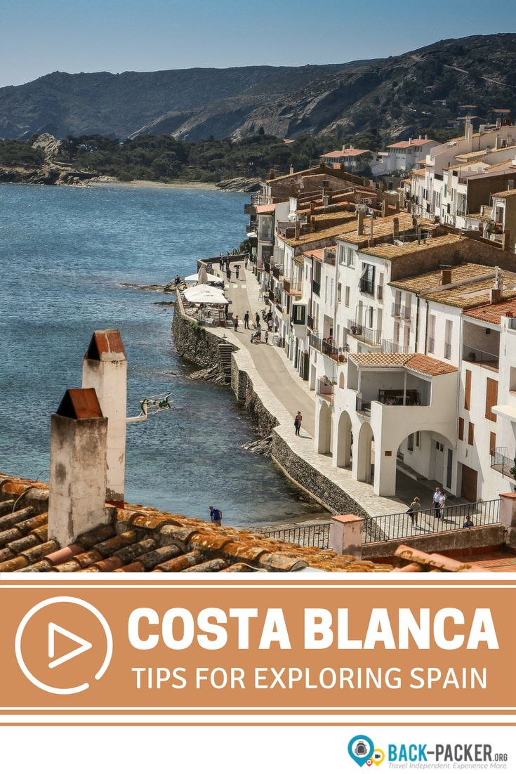 A guide to exploring Spain's beautiful Costa Blanca. Using Alicante as a base, you should spend at least two to three days exploring this coastal region. This video covers best things to do and see + top places for tapas and pintxtos. Travel in Spain. | Back-packer.org #CostaBlanca #Spain