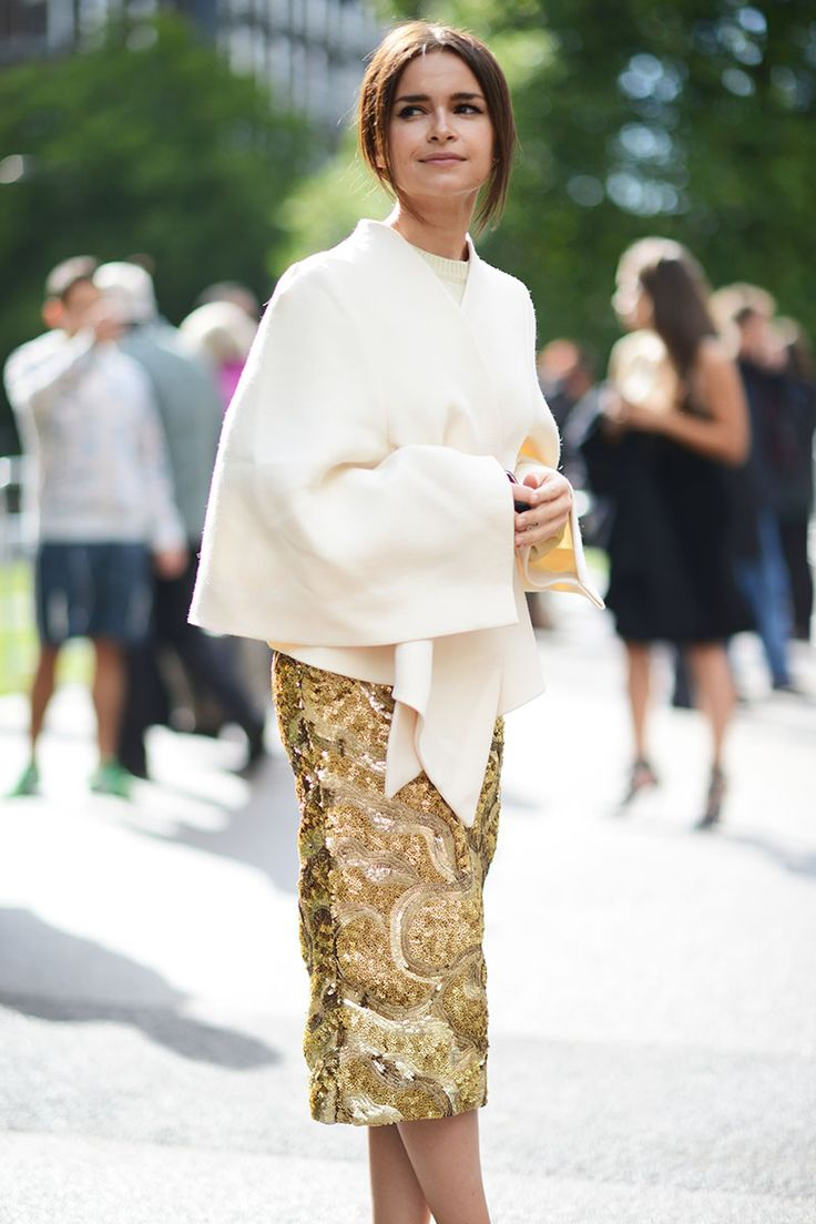 Street Style Looks From Fashion Month Miroslava Duma London Fashion Weeks And London Fashion