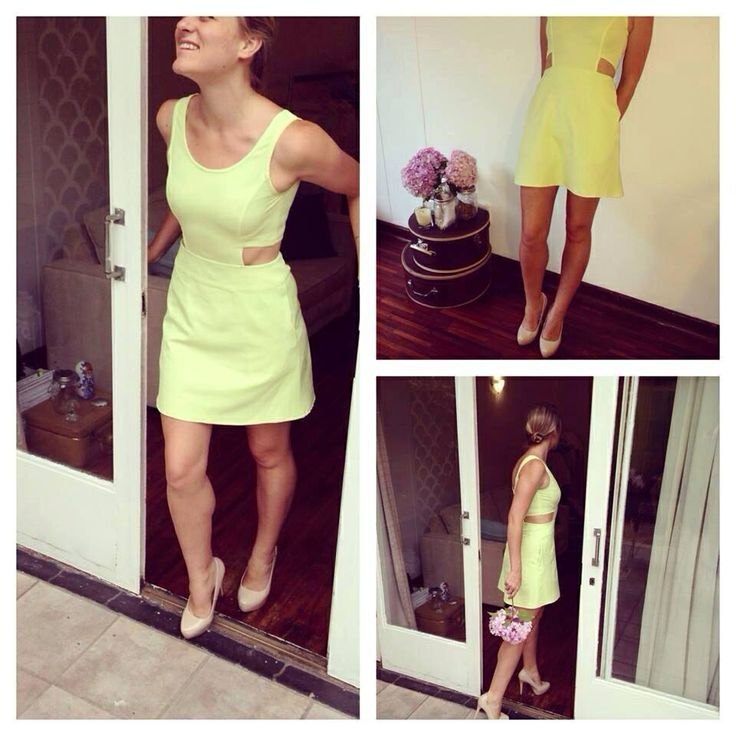 Pink Lemonade Lime Cut out Dress for R380.00 #lime #coloursthatpop