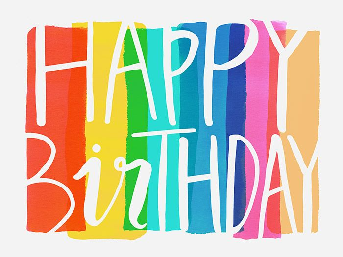 Margaret Berg Art: Big Happy Birthday