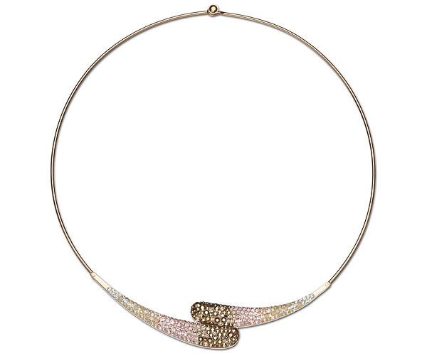 Swarovski-Louise Nude Necklace
