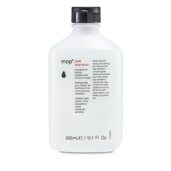 A mild shampoo for infants, toddlers & sensitive scalps Formulated with pear puree & aloe to prevent irritation of dryness caused by shampooing Contains no harsh lather additives or detergents to dry