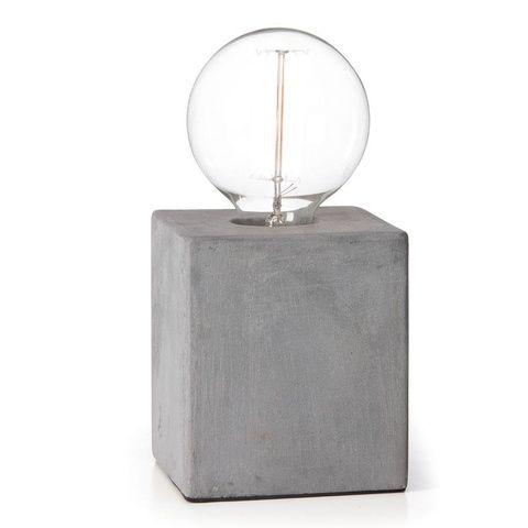 Cement Base Lamp